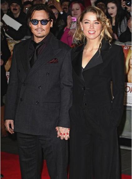 Le mauvais roman feuilleton de l'année : Johnny Depp / Amber Heard