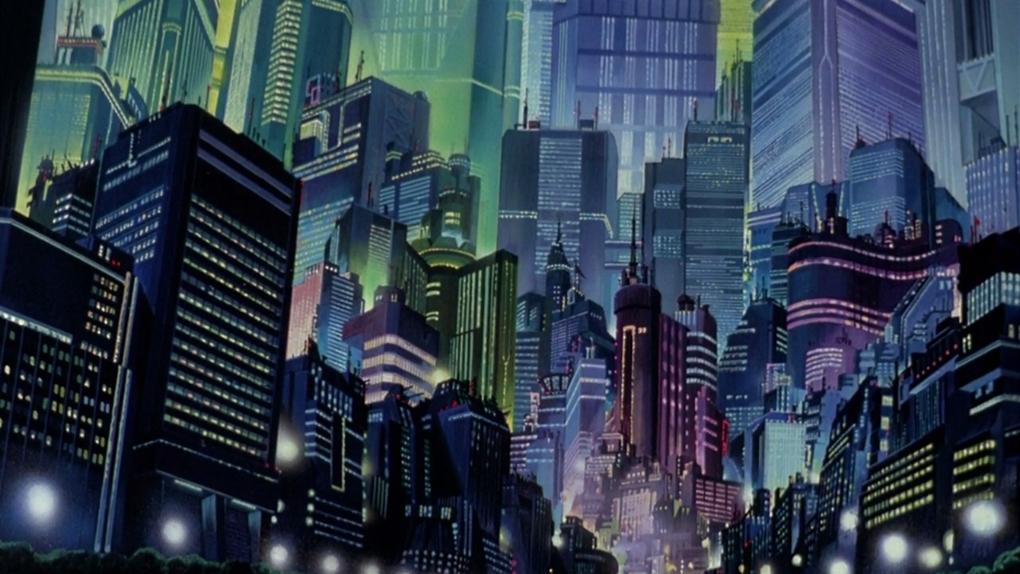 """Neo Tokyo dans """"Akira"""" (1988)"""