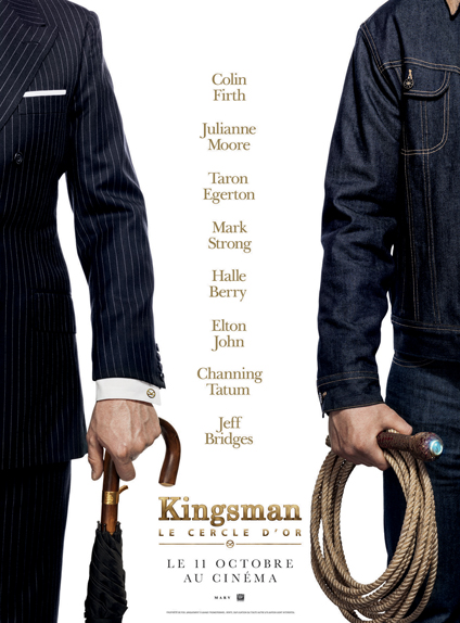 Taron Egerton et Channing Tatum côte-à-côte sur l'affiche-teaser