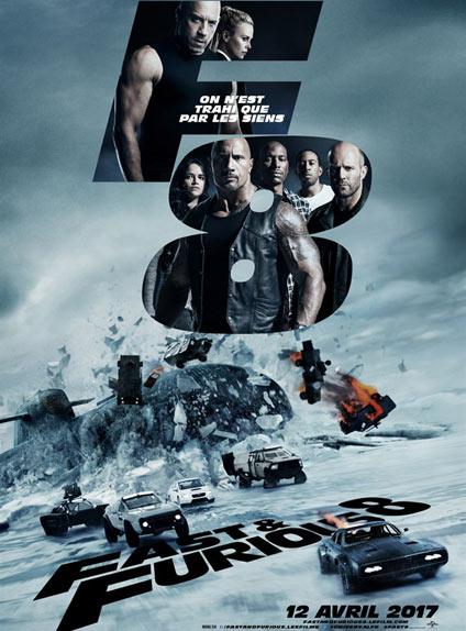 N°1 - Fast & Furious 8 : 1 861 108 entrées