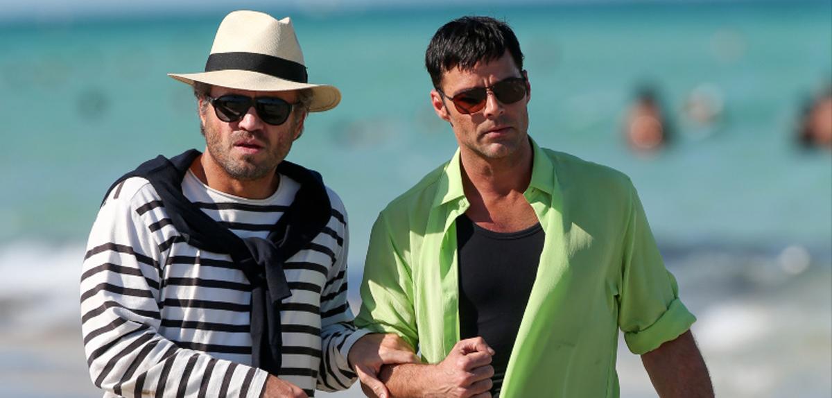 Edgar Ramirez et Ricky Martin