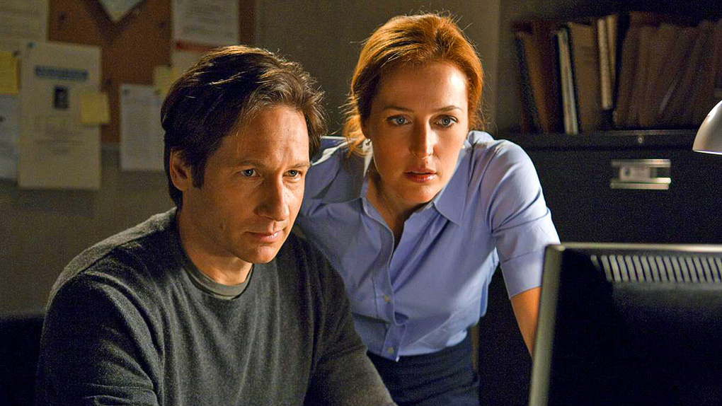 David Duchovny et Gillian Anderson - X-Files