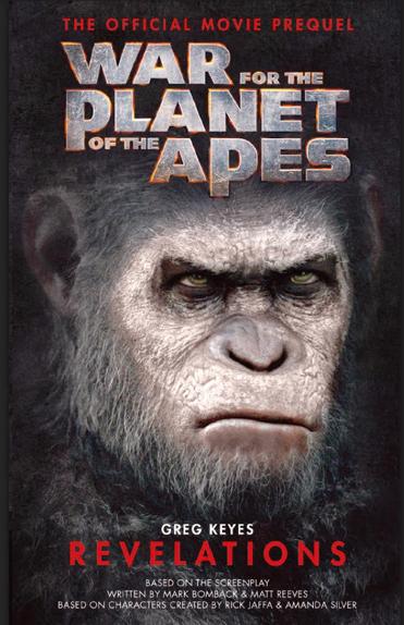 La couverture du livre War for the Planet of the Apes