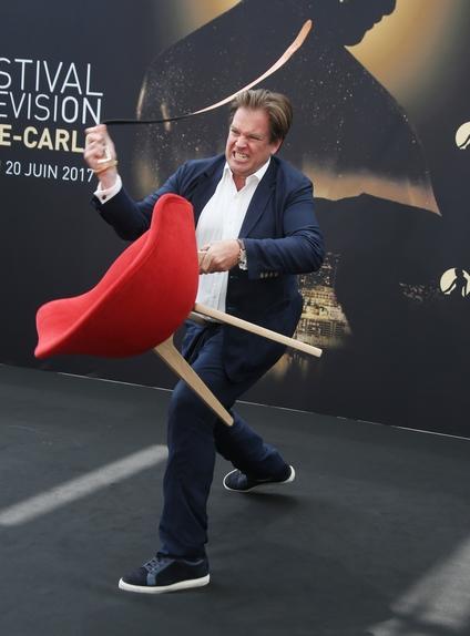 Michael Weatherly au 57ème Festival de télévision de Monte-Carlo