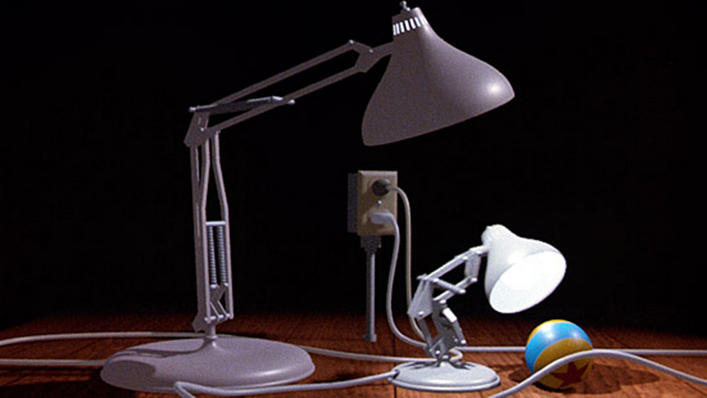 La lampe de Pixar