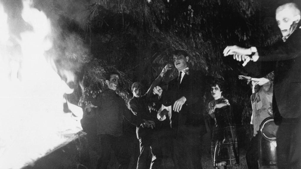 Feu de joie (ou Barbecue ?) pour zombies sans cervelles