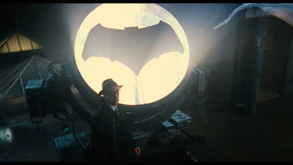 ... et toujours prêt à allumer le Bat-Signal