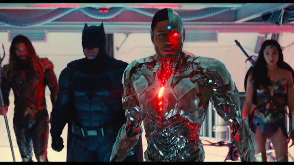 Cyborg en première ligne…