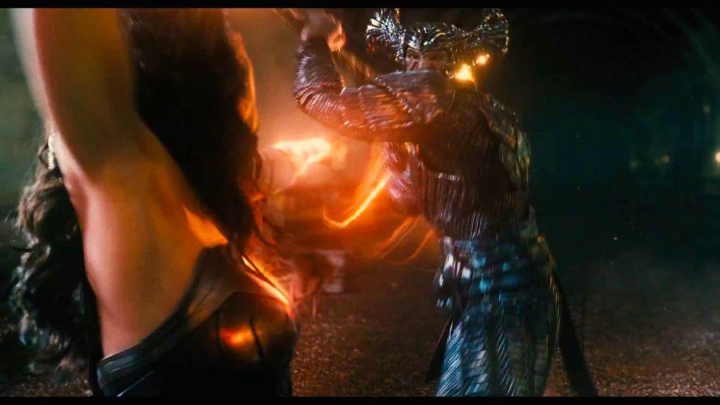 Wonder Woman vs Steppenwolf : round 2