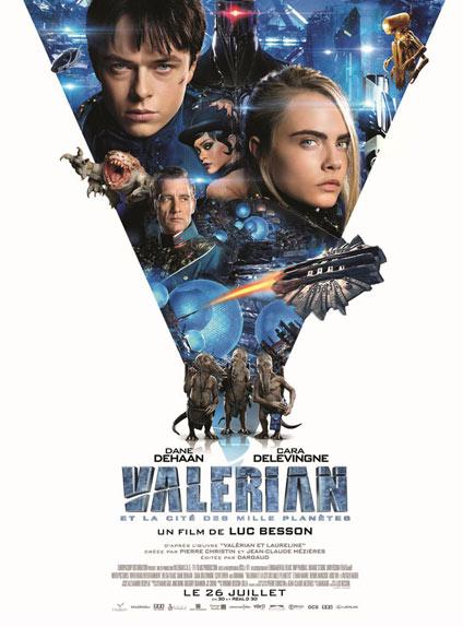 N°2 - Valérian et la Cité des mille planètes : 601 282 entrées
