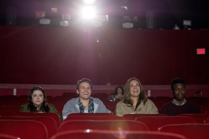 Sortie ciné pour Kate, Kevin, Rebecca et Randall