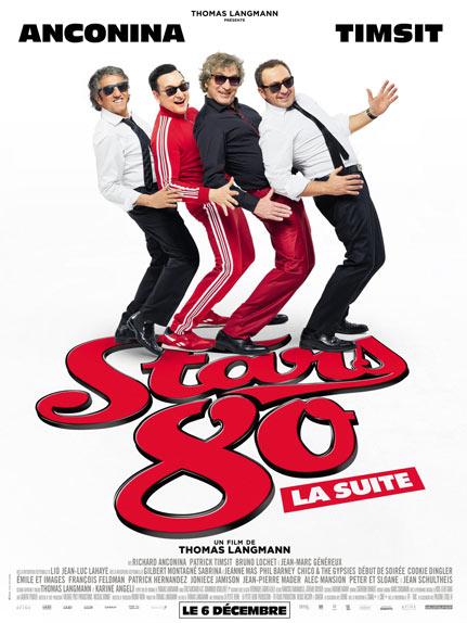 """Stars 80, la suite"" avec Richard Anconina, Patrick Timsit, Bruno Lochet ..."