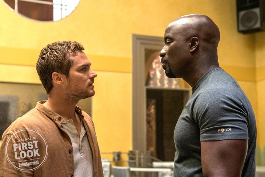 Iron Fist (Finn Jones) sera dans la saison 2 de Luke Cage (Mike Colter)