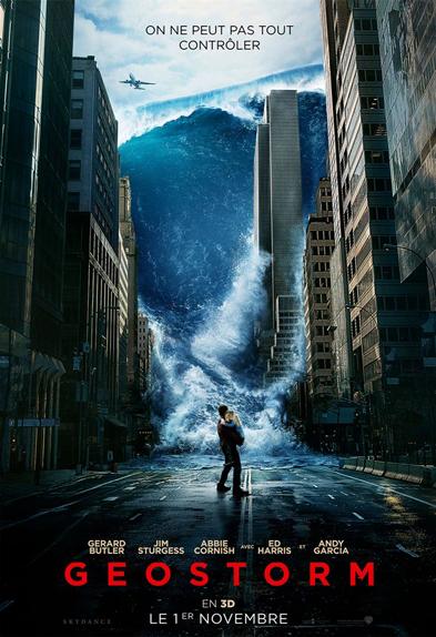 N°5 - Geostorm : 3,03 millions de dollars de recettes