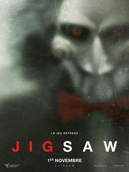 N°5 - Jigsaw : 3,42 millions de dollars de recettes
