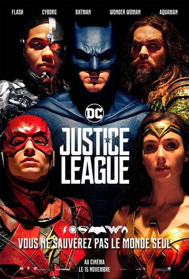 N°2 - Justice League : 9,6 millions de dollars de recettes