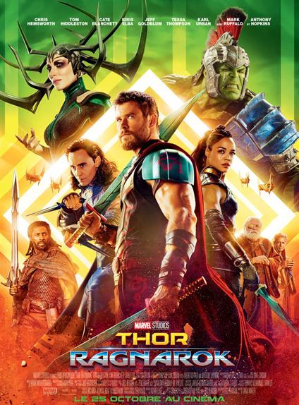 N°5 - Thor: Ragnarok : 6,3 millions de dollars de recettes