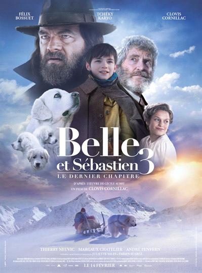 N°5 - Belle et Sébastien 3: 556 836 entrées