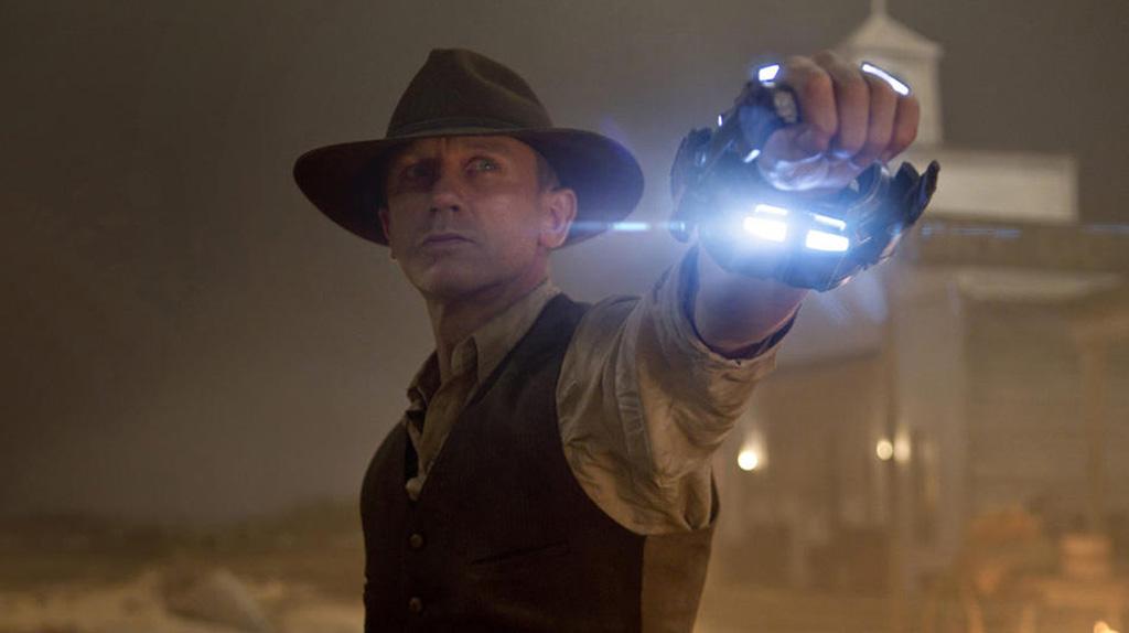 Daniel Craig en mode... cowboy SF : Cowboys et envahisseurs (2011)