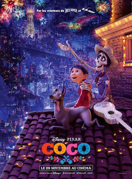 Coco : 2 Oscars, meilleur film d'animation et chanson originale
