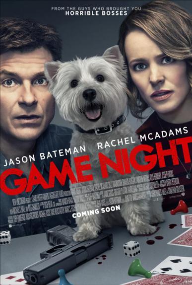 N°4 - Game Night : 10,71 millions de dollars de recettes
