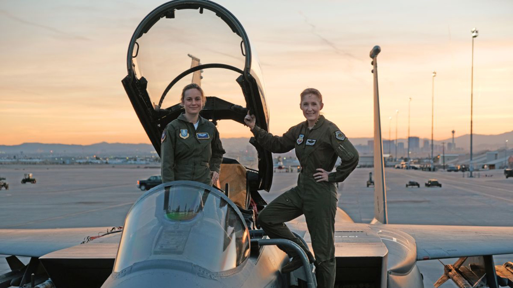 Captain Marvel : Brie Larson parée au décollage !