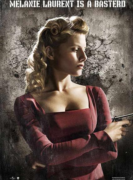 """Mélanie Laurent dans """"Inglourious Basterds"""" (2009)"""