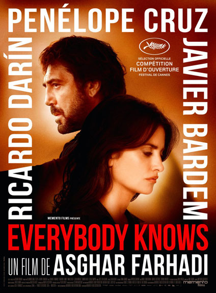 Everybody Knows d'Asghar Farhadi s'affiche