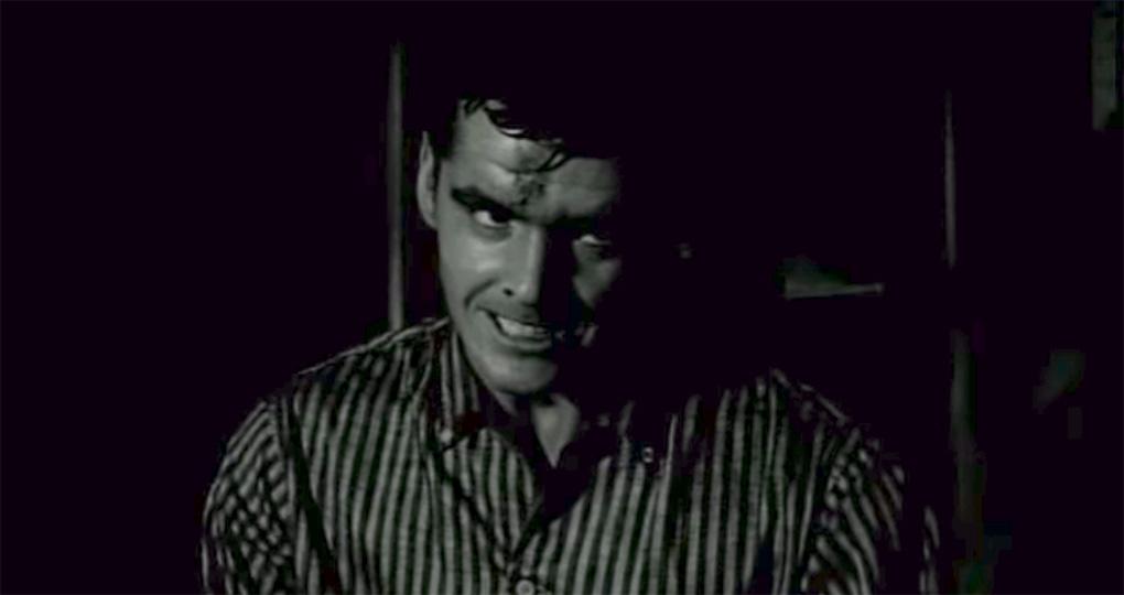 "Jack Nicholson dans ""The Cry Baby Killer"" (1958)"