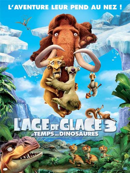 N°13 - L'Age de glace 3 le temps des dinosaures : 7 813 761 entrées