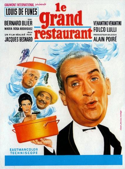3 - Le Grand restaurant (1966)