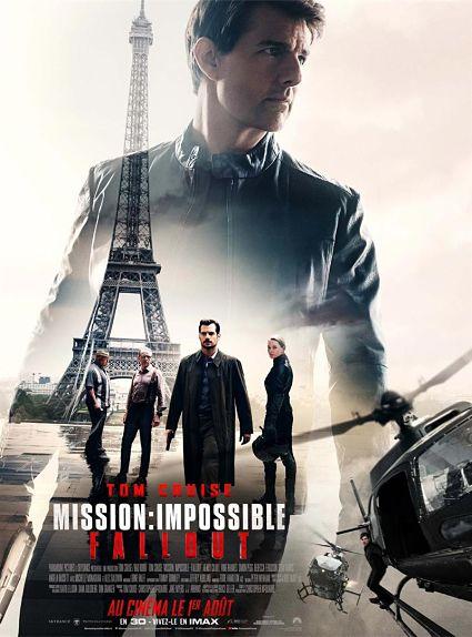 N°1 - Mission: Impossible - Fallout : 61,5 millions de dollars de recettes