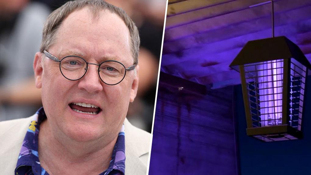John Lasseter est... Harry le moustique (1001 Pattes)