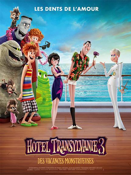 N°5 - Hôtel Transylvanie 3 Des vacances monstrueuses : 299 798 entrées