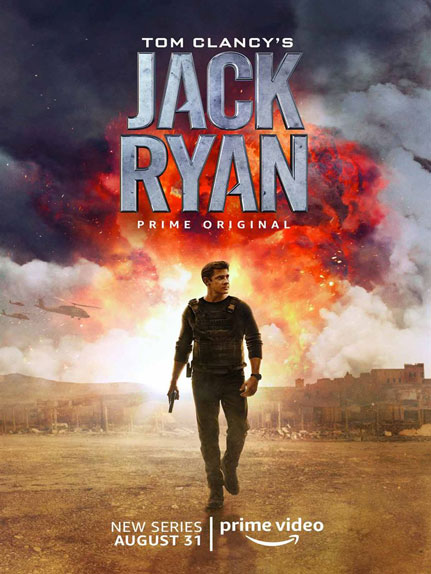 JACK RYAN - Saison 1 à partir du 31 Août sur Amazon Prime Video