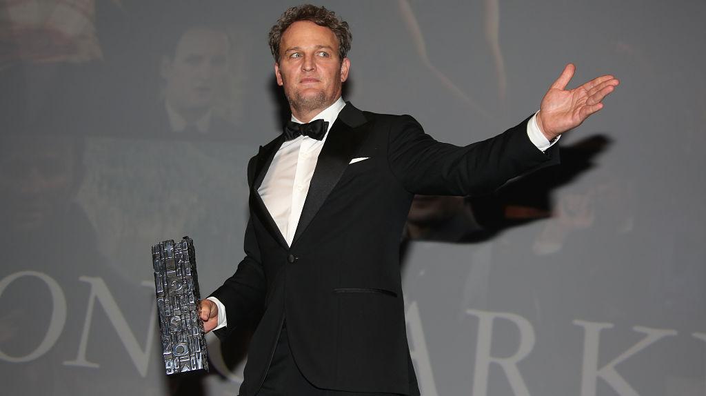 Jason Clarke et son Deauville Talent Award