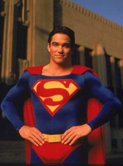 Le Clark Kent de la série Lois & Clark : Les Nouvelles aventures de Superman