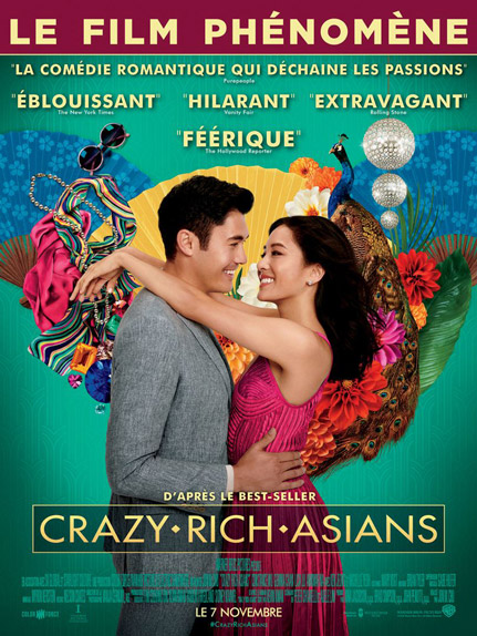 N°5 - Crazy Rich Asians : 6,51 millions de dollars de recettes