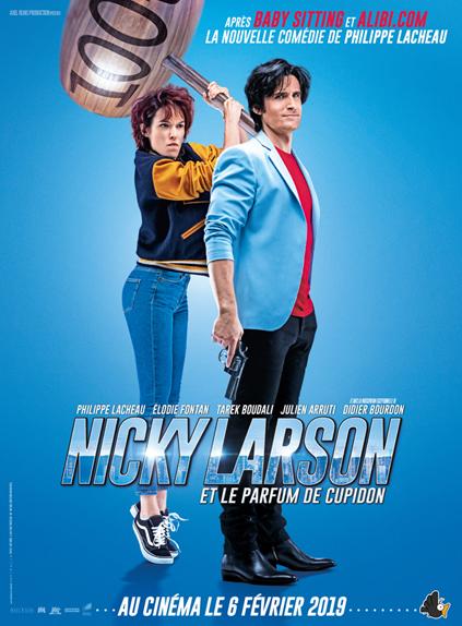 Nicky Larson et le parfum de Cupidon avec Philippe Lacheau, Élodie Fontan...