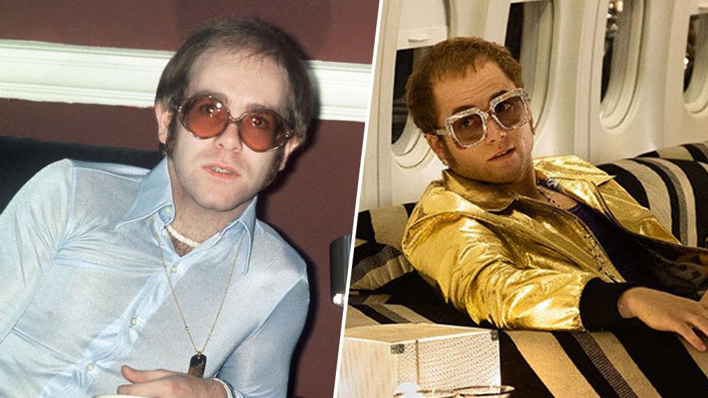 Elton John, interprété par Taron Egerton