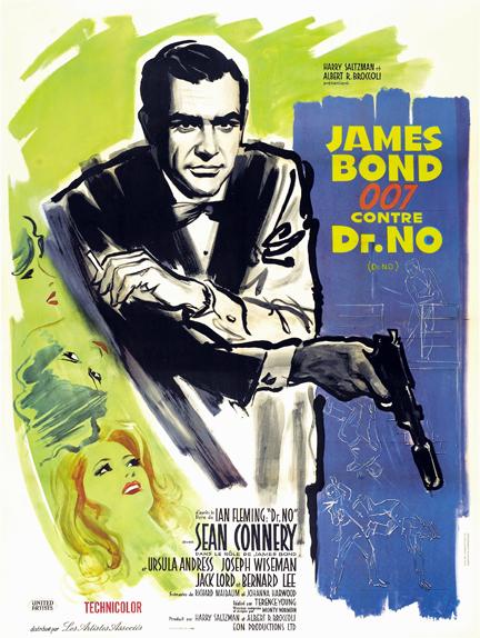#21 - JAMES BOND 007 CONTRE DR. NO (1963) : 2,9/5
