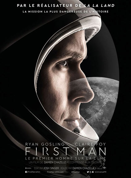 N°5 - First Man - Le premier homme sur la Lune : 318 668 entrées