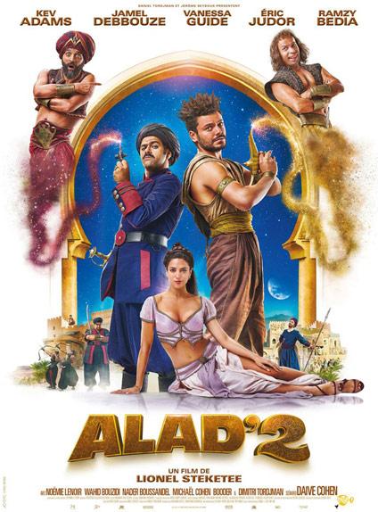 N°3 - Alad'2 :  438 364 entrées