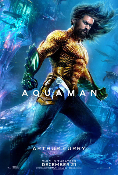 Arthur Curry / Aquaman (Jason Momoa)