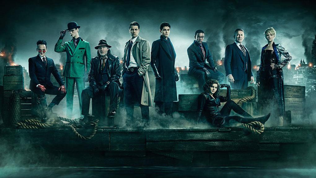 Le casting réuni dans une photo de la saison 5