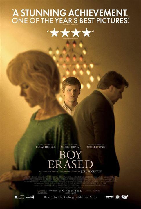 BOY ERASED - 2 nominations