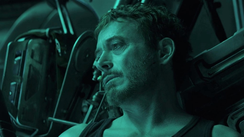 Robert Downey Jr alias Iron Man