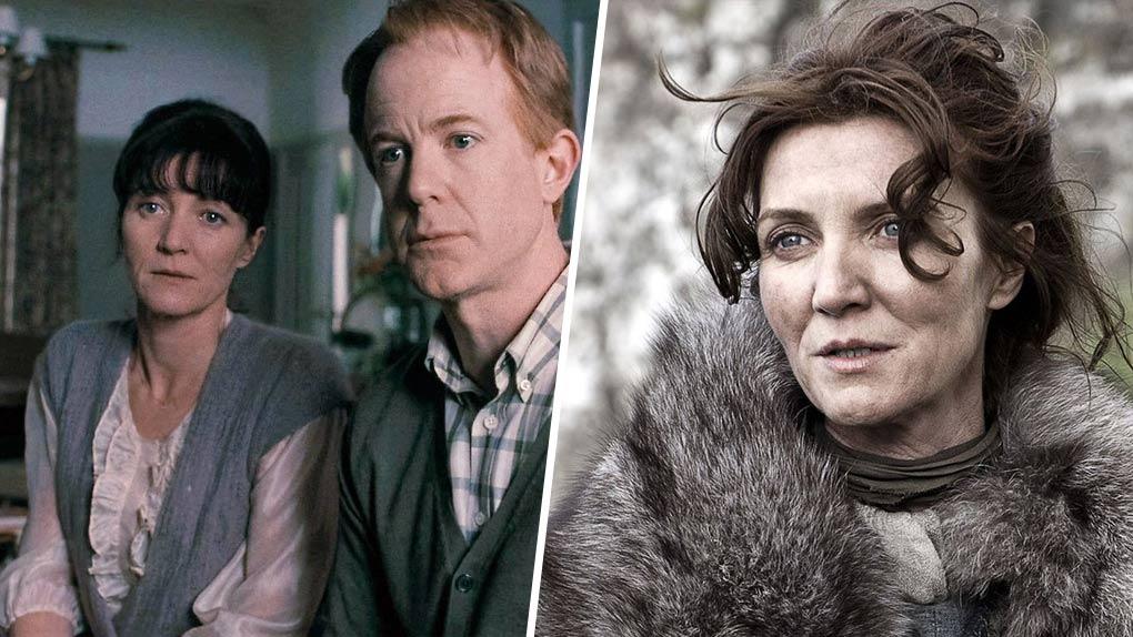 Michelle Fairley (la mère d'Hermione et Catelyn Stark)