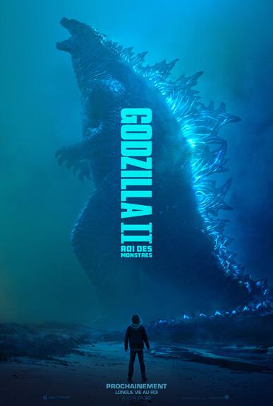 Godzilla II Roi des Monstres avec Vera Farmiga, Kyle Chandler...