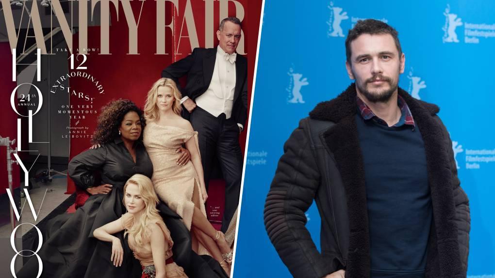 La disparition photoshoppée de l'année : James Franco effacé de la couverture de Vanity Fair pour cause d'accusation d'agression sexuelle